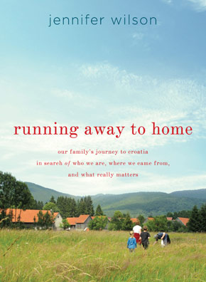 Running Away to Home written by Jennifer Wilson